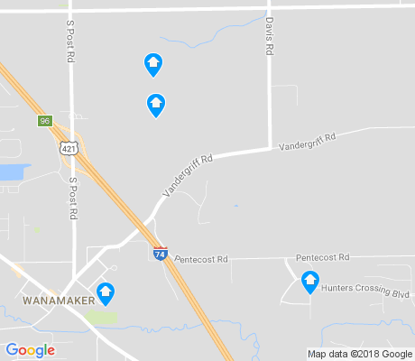 map of New Bethel apartments for rent