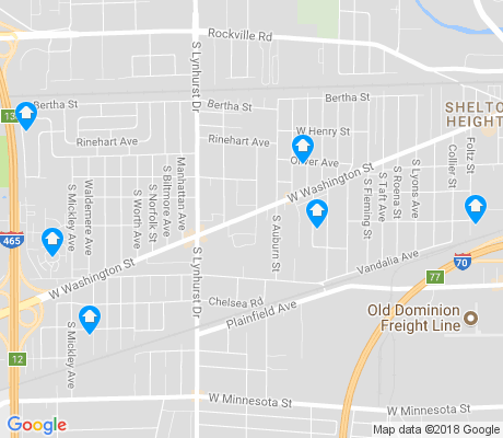 map of Stout Field apartments for rent