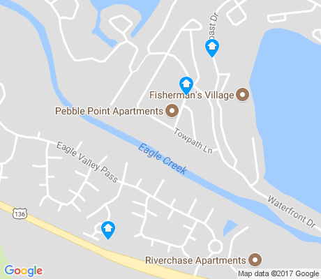 map of Summerfield South apartments for rent