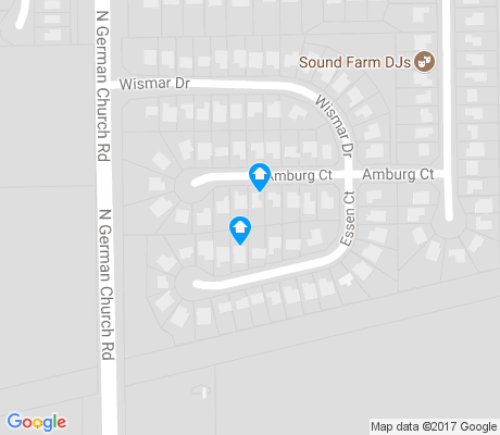 map of Warren Woods apartments for rent