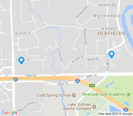 map of Wynnedale - Spring Hill apartments for rent