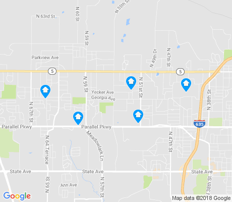 map of Bethel Welborn apartments for rent