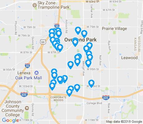 map of 66212 apartments for rent