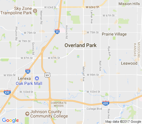 map of Glenwood Estates apartments for rent