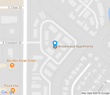 map of Cedar Lakes Village apartments for rent