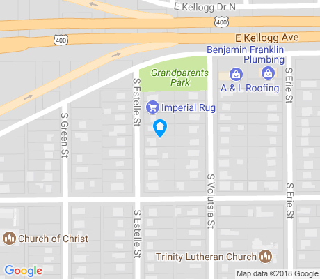 map of Sunnyside apartments for rent