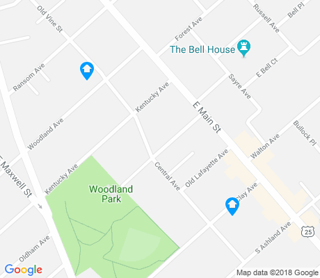 map of Aylesford Place-Woodland Park apartments for rent