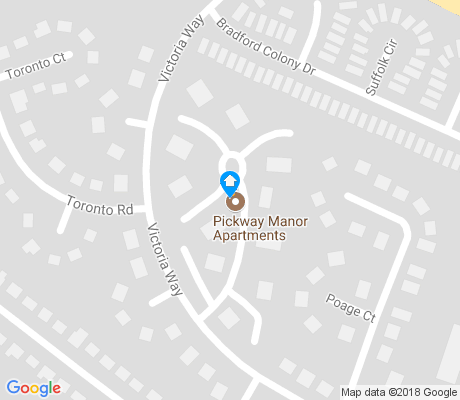 map of Pickway Korner apartments for rent