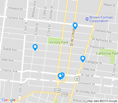 map of California apartments for rent
