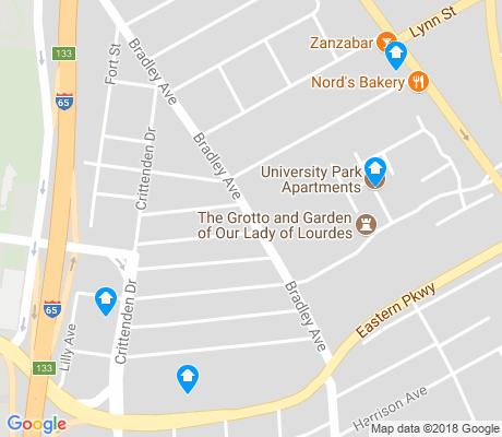 map of Saint Joseph apartments for rent