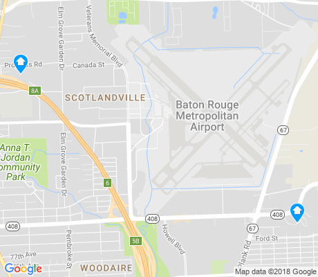 map of Scotlandville apartments for rent
