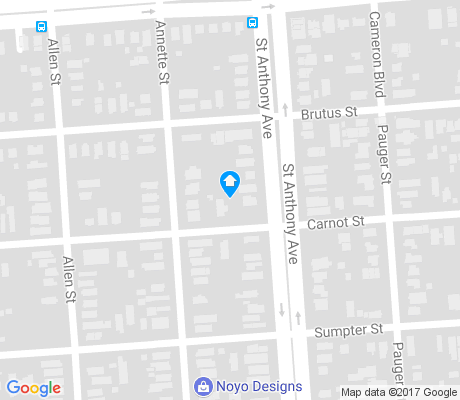 map of Dillard apartments for rent