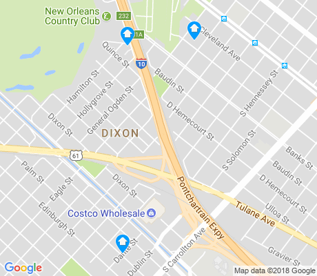 map of Dixon apartments for rent