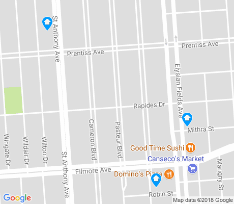 map of St. Anthony apartments for rent