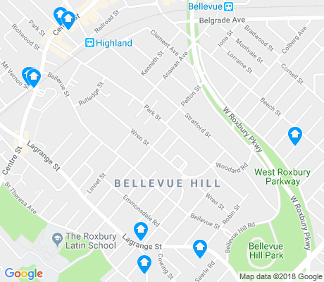 map of Bellevue Hill apartments for rent