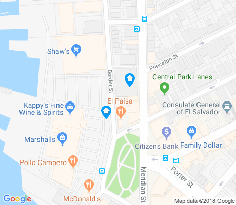 map of Central Square apartments for rent