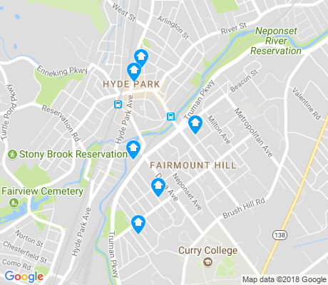 map of Fairmount Hills apartments for rent