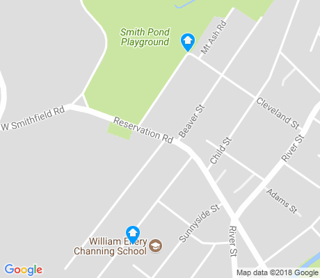 map of Georgetown apartments for rent