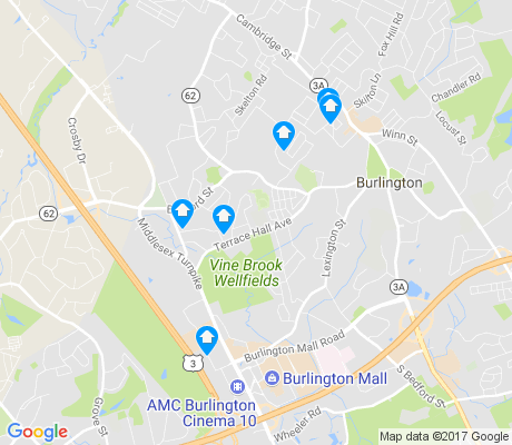 map of Havenville apartments for rent