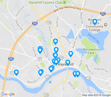 map of 01830 apartments for rent
