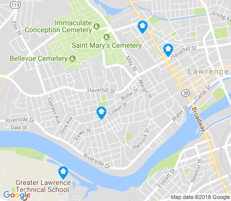 map of Tower Hill apartments for rent