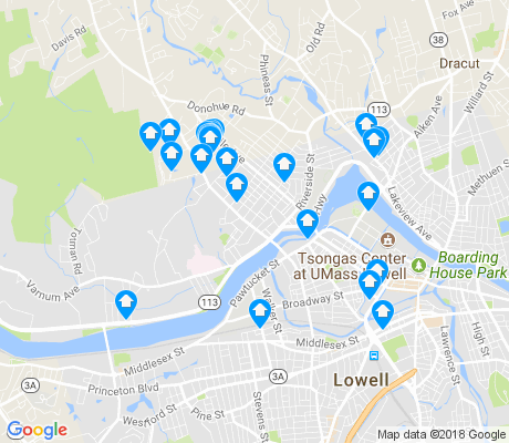 map of 01854 apartments for rent