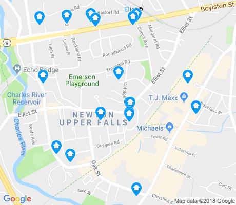 Newton Upper Falls Newton Apartments for Rent and Rentals  Walk Score