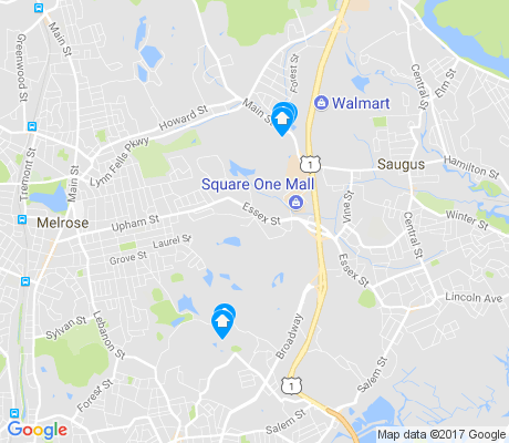 map of Oakland Vale apartments for rent