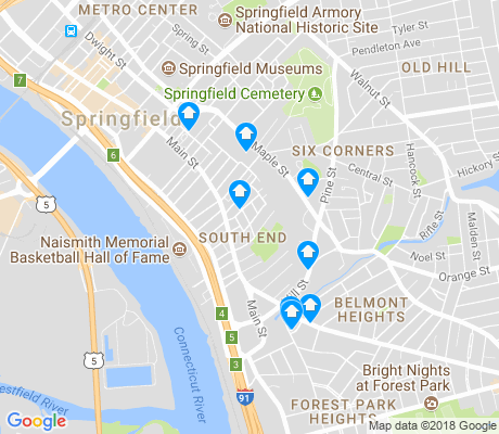 South End Springfield Apartments for Rent and Rentals - Walk Score
