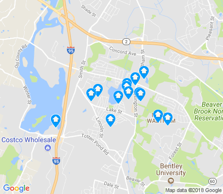 map of Piety Corner apartments for rent