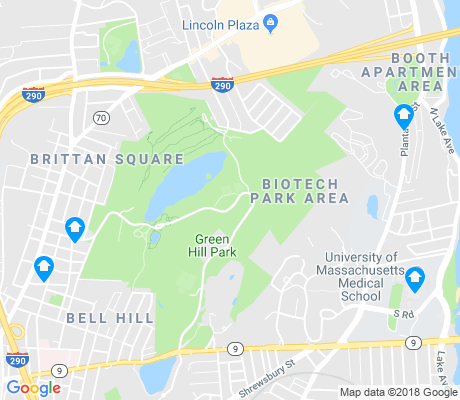 map of Biotech Park Area apartments for rent