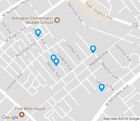 map of Arlington apartments for rent