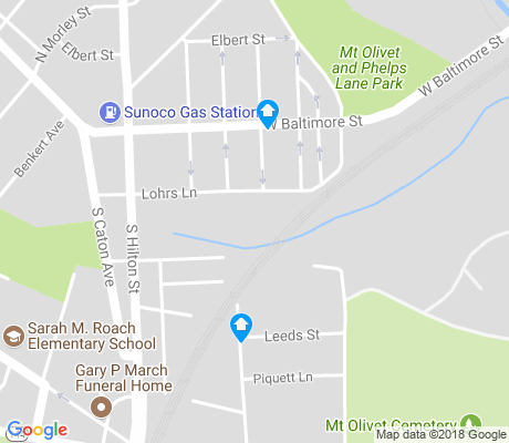 map of Carroll South apartments for rent