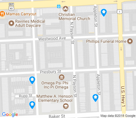map of Easterwood apartments for rent