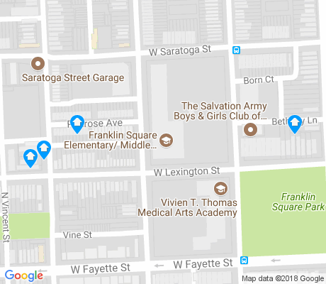 map of Franklin Square apartments for rent