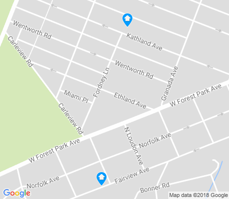 map of Hillsdale Park apartments for rent