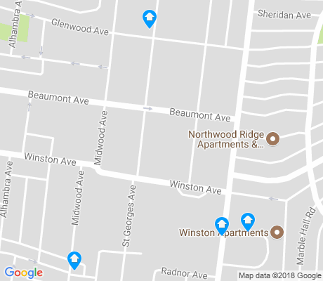 map of Keniworth Park apartments for rent