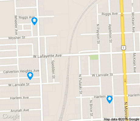 map of Midtown-Edmondson apartments for rent