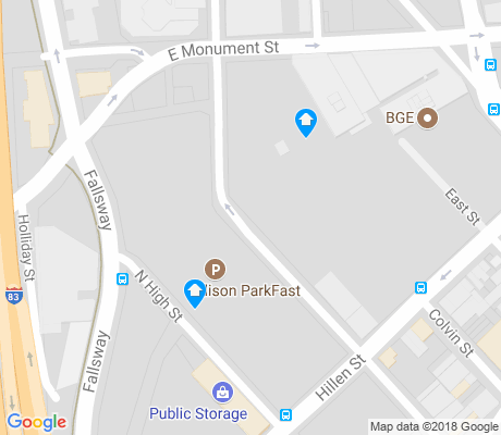 map of Penn - Fallsway apartments for rent