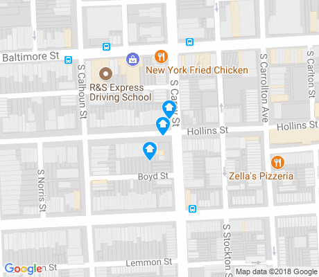 map of Union Square apartments for rent