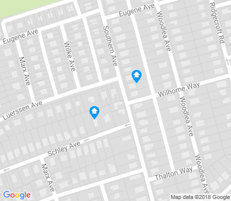 map of Wilson Heights apartments for rent