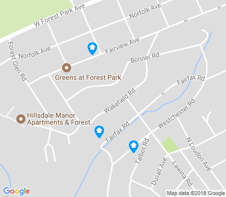 map of Windsor Hills apartments for rent