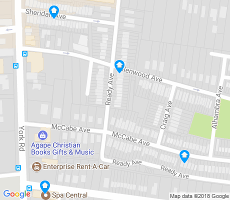 map of Woodbourne - McCabe apartments for rent