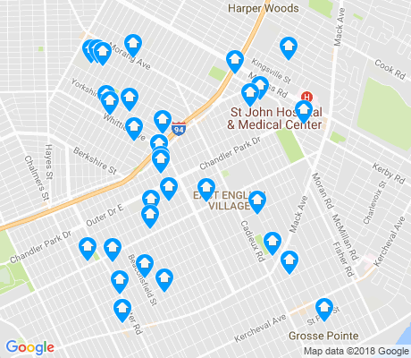 map of Finney apartments for rent