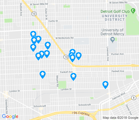 map of Harmony Village apartments for rent