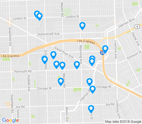 map of Mackenzie apartments for rent