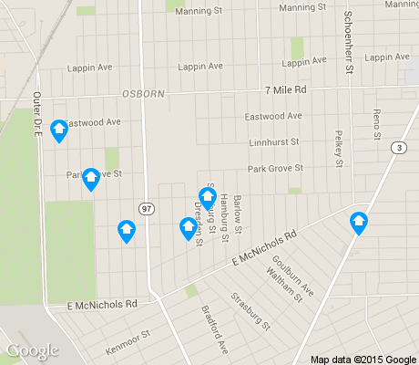 map of Van Steuban apartments for rent