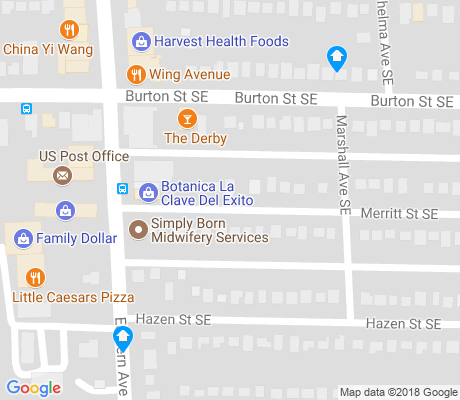map of Alger Heights apartments for rent
