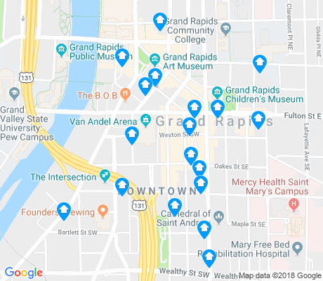 map of Heartside-Downtown apartments for rent