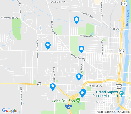 map of Westside Connection apartments for rent